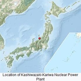 kashiwazaki-kriwa npp location
